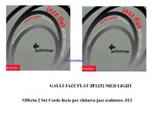 Galli Strings JAZZ FLAT JF 1252 Offerta di 2 Set Corde liscie per chitarra jazz
