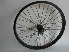 "20 Inch BMX Bike Rear Wheel 9T Driver 3/8"" Axle Bicycle 20""  Wheel Black"