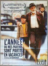 Affiche L'ANNEE OU MES PARENTS SONT PARTIS EN VACANCES Cao Hamburger 120x160cm *