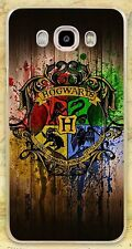 Harry Potter Hogwarts Logo Rigid Plastc Case Cover Coque  For All Phone Models