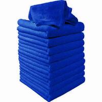 50pcs Large Microfiber Cleaning Auto Car Detailing Soft Cloth Wash Towel Dust