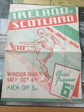 More details for northern ireland v scotland 1947 @ windsor park