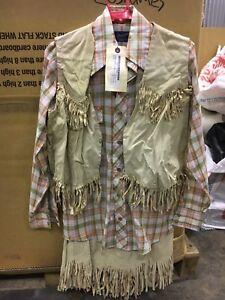 Suede Cowgirl Fancy Dress 12