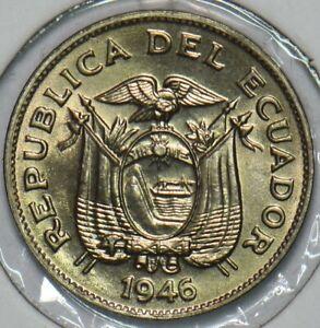 Ecuador 1946 5 Centavos 195944 combine shipping