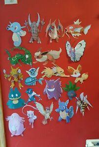 Set of 20 pokemon goo cutout / decorations set 2