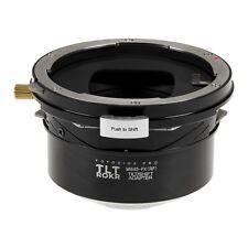 Fotodiox pro TLT rokr-Tilt/Shift adaptador Mamiya m645 lens to Fujifilm Fuji X
