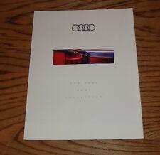 Original 1993 Audi Full Line Foldout Sales Brochure 93 Quattro 100 S4 90