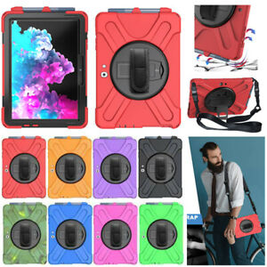 Shockproof Heavy Duty Hand Strap Stand Case Cover For Microsoft Surface 3 /Go 2