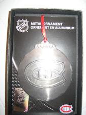 Montreal Canadiens Christmas Tree Metal Ornament Frameworth