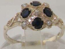 Pearl Sapphire Fine Rings