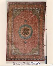 Persian Rug 5- Pre-Revelution Qum pure persian silk rug