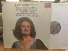 "Joan SUTHERLAND ""Bel Canto Arias"" Opera Nazionale Gallese/BONYNGE DECCA LP 417 2531"