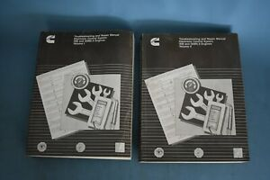 1999 Cummins Electronic Control ISB QSB 5.9 Engines Service Shop Repair Manual