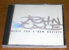 "John Cale ""Music For A New Society""  CD  RARO"