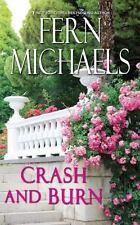 CRASH AND BURN unabridged audio book on CD by FERN MICHAELS - Brand New!