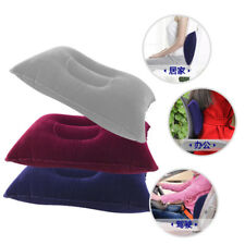 1X Portable Ultralight Inflatable Air Pillow Cushion Travel Hiking Camping Rest