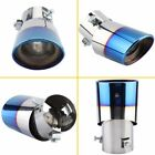 Novel Blue Car Stainless Steel Exhaust Trim Tip Muffler Pipe Replace Auto Parts