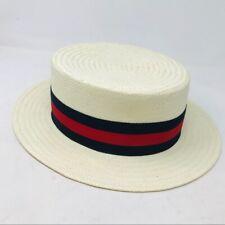 Goorin Bros Men's Beige Straw Hat Vintage Tan