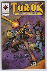 Turok, Dinosaur Hunter #5 mint High Grade Valiant 1993