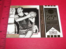 NATIONAL TREASURES 2009-10 Dolph SCHAYES #1 25th Ann/25 Syracuse NATIONALS 76ers
