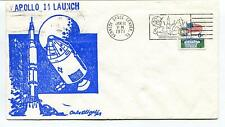 1971 Apollo 14 Launch Kennedy Space Center Florida Space Cover