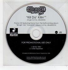 (FF437) Cee-Rock ''The Fury'', Kill Da' Killin' - 2008 DJ CD
