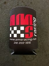AMS RACING DRINK BEER CAN COLLAPSIBLE COOLER KOOZIE COOZY COOZIE