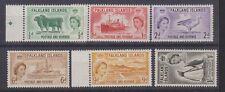 FALKLAND ISLANDS 122-27 QEII 1955-57 set mint