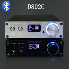 FX-Audio D802C Bluetooth Pure Digital USB/AUX/Optical/Coaxial Car Amplifier