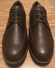Aetrex Brown Leather Split Toe Oxfords Mens Sz 12E