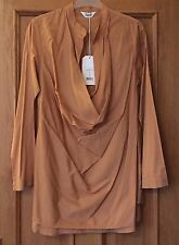 £95 NWT TOAST 'Doe' Saffron Isa Cotton Layered Tunic Dress Blouse Long Top 8
