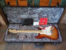2017 Fender American Pro Strat Stratocaster Guitar Sienna Sunburst w/ Case