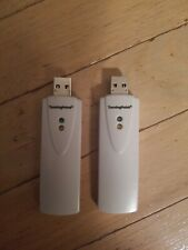 SET OF 2 TURNING TECHNOLOGIES TURNING POINT RRRF-01 USB RECEIVER