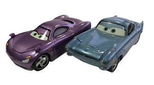 Mattel Disney Pixar Cars Finn McMissile and Holley Shiftwell 1:55 Diecast Cars