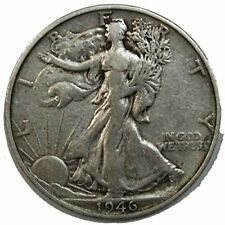 1946-S Walking Liberty Half Dollar in about VF+ Condition