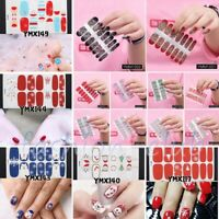 Xmas Nail Wraps Stickers Full Self Adhesive Polish Foils Decoration Art Decals
