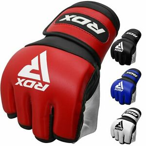 RDX MMA Gloves Martial Arts Combat Punch Training Sparring Fighting Grappling