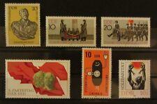 DDR Lot 1981 Mi-Nr: 2579 + 2580 - 2581 + 2582 + 2601 + 2648  postfrisch **