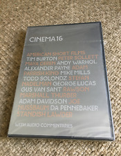 NEW!! (DVD) CINEMA 16 ~ AMERICAN SHORT FILMS Andy Warhol GEORGE LUCAS Rare!!