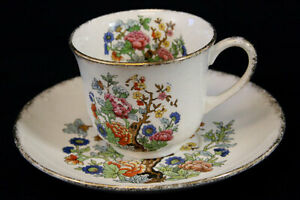 Vintage Eastern Far Importex  W.S. George Cape Code Cup And Saucer Set