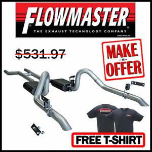 "Flowmaster 817282 1967-1970 Ford Mustang V8 2.5"" Header-Back Dual Exhaust System"