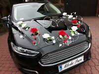 Autoschmuck Autodekoration Deko Hochzeit Hochzeitsauto Rosen Herzen Wedding Car