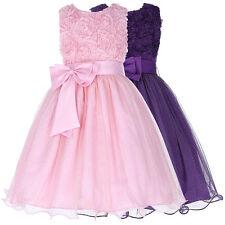 SALE Flower Girls Kids Princess Bridesmaid Wedding Gown Birthday Party Dresses