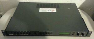 EXTRON DVS-406A DIGITAL VIDEO SCALER SEAMLESS SWITCHER HDTV 1080P/60 W/ 6 INPUT