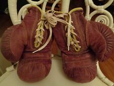 HUTCH vintage 100% leather boxing fight gloves 540L