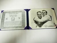 Gehrig and Ruth Appreciation Day Vintage Archive Photo and Campden Park Post Mar