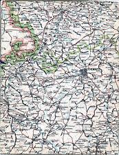Chemnitz Annaberg Rochlitz Mittweida 1912 Teilkarte/Ln. Zwickau Schneeberg Geyer