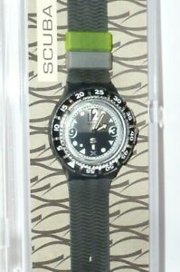 Swatch Uhr Scuba 200 Swatchuhr Uhren SDM 106 Nightlife watches new box black Neu