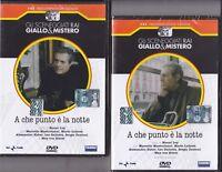 2 Dvd Sceneggiati Rai A CHE PUNTO E' è LA NOTTE con M. Mastroianni completa 1994