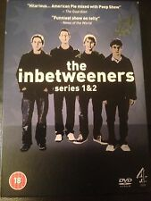 THE INBETWEENERS DVD SERIES 1 & 2 BOX SET RARE COMEDY